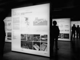"""Painéis expositivos da Exposição """"NC XXI"""""""